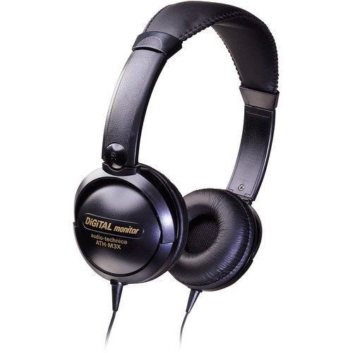 Audio-Technica  ATH-M3X Supra-Aural Closed-Back Stereo Headphone