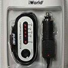 iWORLD Prime Audio Wireless FM Transmitter - Black