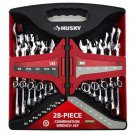 HUSKY Combination 28 Piece Wrench Set