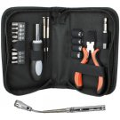 QVS 20 Piece Technician Tool Kit with Extendable Magnetic Flashlight