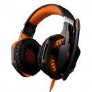 KOTION EACH G2000 Headband Game Headset Headphone - Orange + Black
