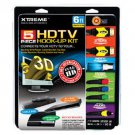 Xtreme Cables 5 Piece HDTV 1.4 Hook-Up Kit #85546