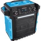 ION Audio Pathfinder Waterproof Rechargeable Speaker System - BLUE