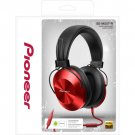 Pioneer SE-MS5T-R High-Resolution Stereo Headphones -  RED