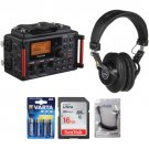 Tascam DR-60DmkII to Camera Essentials Kit