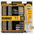 DeWalt MaxFit Screwdriving Set 45-Piece - Magnetic Screw Lock System