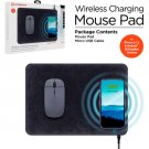 HyperGear Wireless Charging Mouse Pad - Black