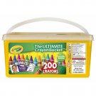 Crayola Ultimate Crayon Bucket, 200 Count, 17 Colors
