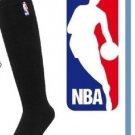 Authentic NBA Logo Basketball All Sports Socks Black XL