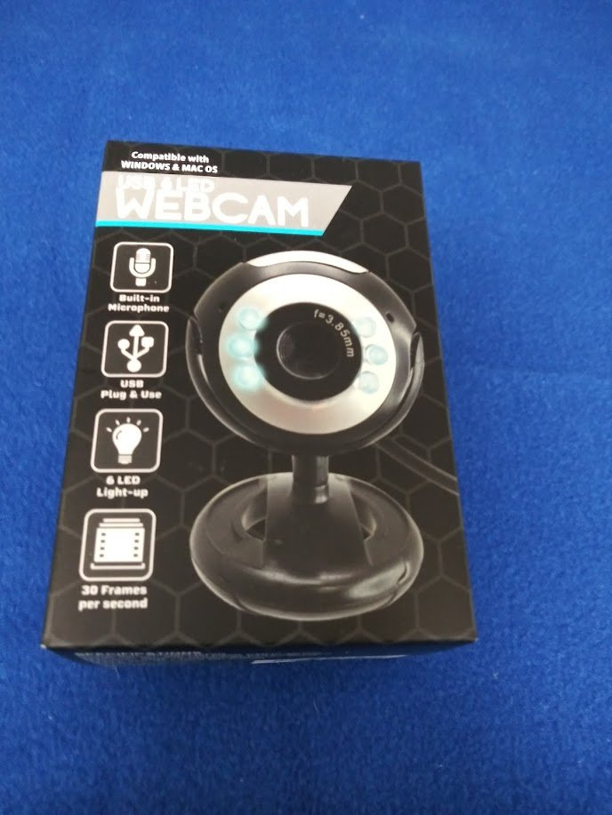 USB 6 LED WebCam with Microphone