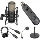 AKG Perception P220 Microphone and Recording Essentials Kit