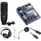 AKG P120 Condenser Microphone Starter Recording Kit