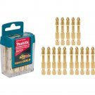 Makita Impact GOLD #2 2 in. Phillips Power Bit (15 Per Pack)