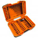 WEN 1/4 in. Hex Shank Impact-Rated Quick-Release Screwdriver and Drill Bit Set (40-Piece)