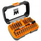 WEN 1/4 in. Hex Shank Impact-Rated Magnetic Screwdriver Bit Set (60-Piece)