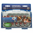 Dremel EZ Lock Cut-Off Wheel Set for Metal and Plastic (11-Piece)