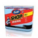 Scott Blue Shop Towels 6 Pack