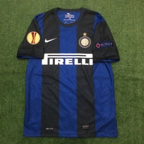 Mens Nike Inter Milan Home 2013 Size M New With Tag Football Trikot Maillot