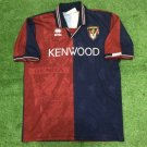 Mens Errea Genoa Home 1994 Size M Camisa Trikot Football Maillot
