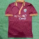Mens AS Roma Home 2013 Size S #15 Pjanic Camisa Trikot Football Jersey