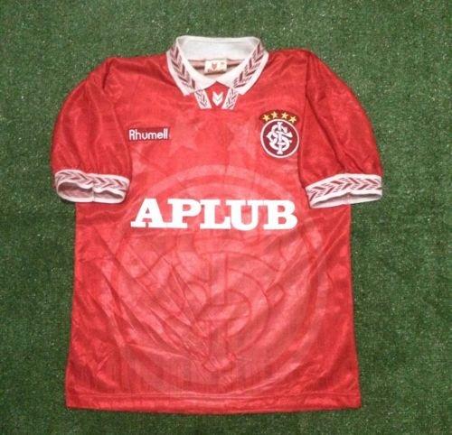 Mens Rhumell Internacional Home 1995 Near Mint Shirt Soccer Camisa Maglia