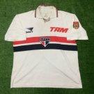 Mens Penalty Sao Paulo Home 1995 Size L Camisa Trikot Football Maillot Maglia