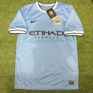 Mens Nike Manchester City Home 2013 Size XL Boys #8 Nasri NWT Football Soccer