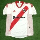 Mens Adidas River Plate Home 2002 Size L Trikot Soccer Camisa Jersey Maillot
