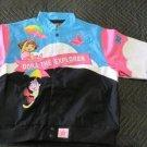 Dora The Explorer End Of The Rainbow JH Design 2XL 13-14 Jacket kids coat girls