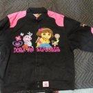 Dora The Explorer Peace Love Adventure JH Design 2XL 13-14 Jacket kids coat girl