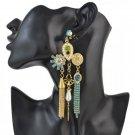 Vintage Chandeliers Crystal Rhinestone Tassel Studs Earrings - 3 colors