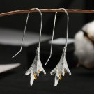Lily of the Valley Dangle Drop Hook Earrings