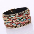 Braided Rope Magnetic Clasp Bracelets Wrist Chains