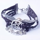 Wings Bracelet Bangle Charm Cuff Jewelry