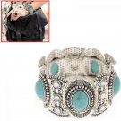 Classical Jewelry Bangle Natural Turquoise Wristlet Bracelet