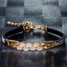 Luxury Gold Color Bangles Wedding Crystal Bracelet