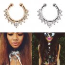 Fashion Crystal Nose Ring - 2 colors