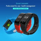Smart bracelet heart rate synchronization call reminder monitor IP65 Device - 3 colors