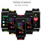 waterproof unisex heart rate monitor sports band n68 smart watch - 5 colors