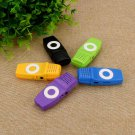 MP3 player media player mini USB music 16GB micro SD TF card audio device - 5 colors