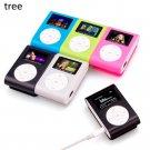 MP3 player special mini USB clip LCD screen 32 GB micro SD TF card - 5 colors