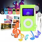 MP3 player 32 GB micro SD TF card slot mini USB music media player - 5 colors