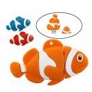 Cartoon Funny Clown Fish Usb Flash Drive Memory Stick U Disk, 3 colors - 8 GB