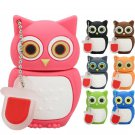 Pen Drive Owl 7 colors USB 2.0 Flash Drive Flash Memory Stick U Disk - 64 GB