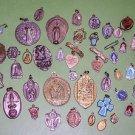 Large Vintage/Antique Religious Medals Lot