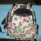 Dakine Prom Laptop Backpack, Patchwork flowers, 25-Liter, w/ front pocket cooler