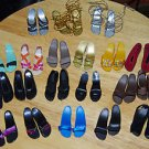 "20 Pairs Of 16"" Fashion Doll Sandals Shoes"
