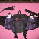 """Stansport  """"North Rim"""" Fanny Pack W/2-Water Bottles 1024 cycling,hiking,camping"""