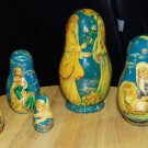 Museum Quality Matryoshka Russian Wooden Nesting Egg Icon/Doll