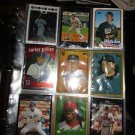 Notebook Full Of 593 Sports Cards